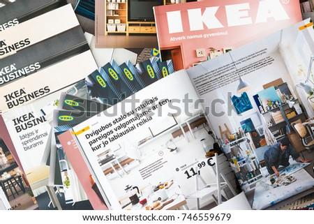 October 2017 Minsk Belarus Ikea Catalogue Stock Photo Edit Now
