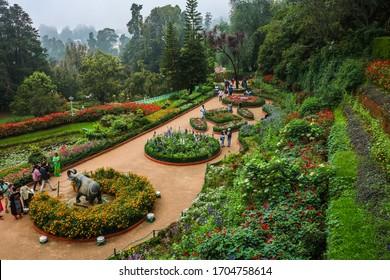 October 2018, Ooty, India, botanical garden in Ooty, india