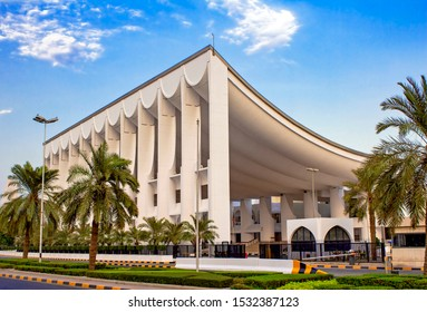 October 2019, Kuwait - The National Assembly Of Kuwait Iconic Building Ready For Hosting The New Elections