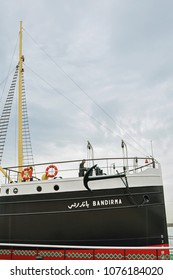 October 21 2013, Bandirma ship, Symbol of national struggle of Turkey in Samsun, Turkey
