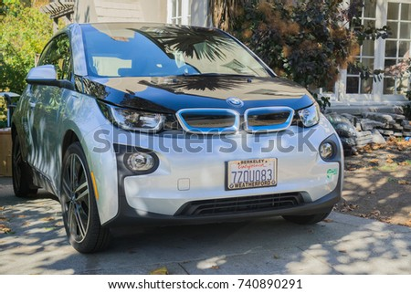 October 22 2017 Oakland Causa Bmw Electric Stock Photo Edit Now