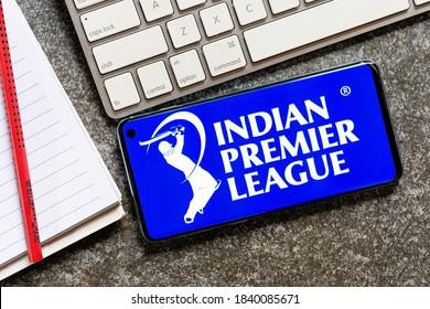 October 24, 2020, Brazil. Indian Premier League is the main cricket league.