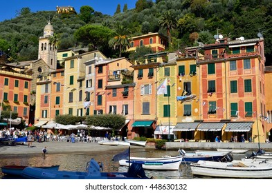 October 27, 2014. Italy, Portofino. Italian resort Portofino.
