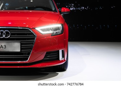 October 27th 2017, Vietnam International Motor Show VIMS 2017 - Ho Chi Minh city: Review new series Audi A3.