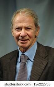 OCTOBER 29, 2004 - BERLIN: Pierre Ferraud, CEO of the Fonciere Euris at a press conference in Berlin.
