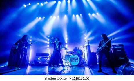 October 29 2018. Concert of Greta van Fleet at Poppodium 013 Tiblurg, The Netherlands
