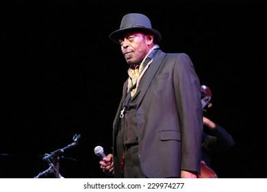 "OCTOBER 31, 2014 - BERLIN: Archie Shepp- concert of the ""Archie Shepp Quartet""  at the ""Jazzfest Berlin""."