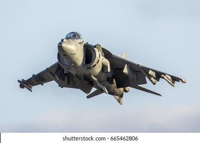 October 4, 2015. MCAS Miramar Air Show, San Diego, USA. McDonnell Douglas AV-8B Harrier II