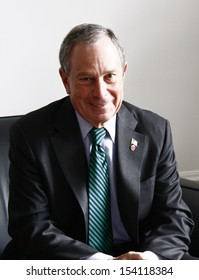 OCTOBER 5, 2008 - BERLIN: the mayor of New York City, Michael Bloomberg, during a visit at his Berlin counterparts office, City Hall, Berlin.