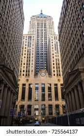 October 8, 2016 - Chicago Board of Trading building