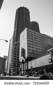 October 8, 2016 - Marina City towers. Chicago, Illinois