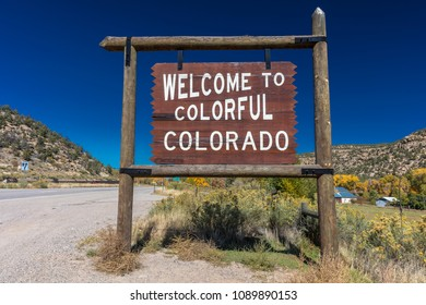 OCTOBER 8, 2017 - Welcome to Colorful Colorado - roadside America crossing the 50 states