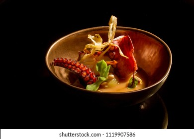 Octupus, mediterranean gastronomy