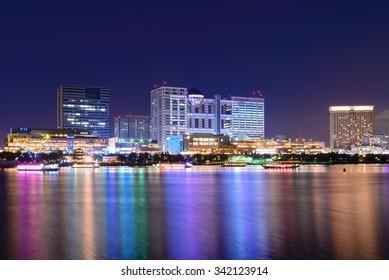 Odaiba City at Night