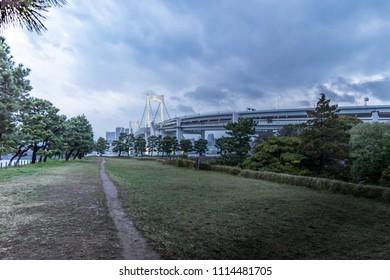 odaiba park tokyo japan
