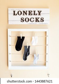 Odd or Lost Socks solution for organised laundry