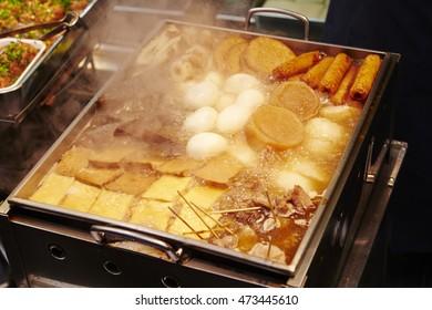 Oden, Japanese winter dish