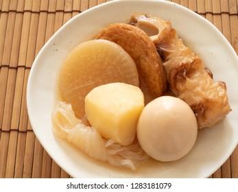 Oden(Japanese Hot Pot)