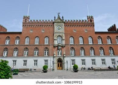 Odense, Denmark - June 26, 2012: Odense City Hall