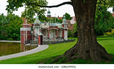 Odense, Denmark - June 26, 2012: Anderson Fairy Tale Castle