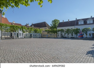Odense Denmark Sortebrodre Square