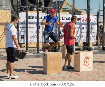 Odessa, 10 September 2016: the strongest Odessa sportsmen took part in the all-Ukrainian crossfit tournament