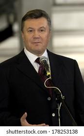 ODESSA - OCTOBER 24: President of Ukraine Viktor Yanukovych during his working visit to Odessa, October 24, 2012 in Odessa , Ukraine.