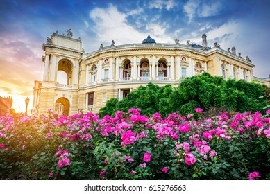 Odessa Opera and Ballet Theater, Ukraine.
