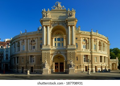 The Odessa Opera House and Theatre has just completed a refurbishment  It is generally regarded as the second most important Opera House after Vienna. It also shows, ballet and theatre