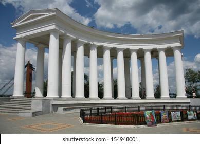 ?olonnade - Odessa symbol. Arbour of count Voroncov.