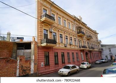Odessa, Ukraine. 16 December 2017. Witch House of Odessa, Ukraine