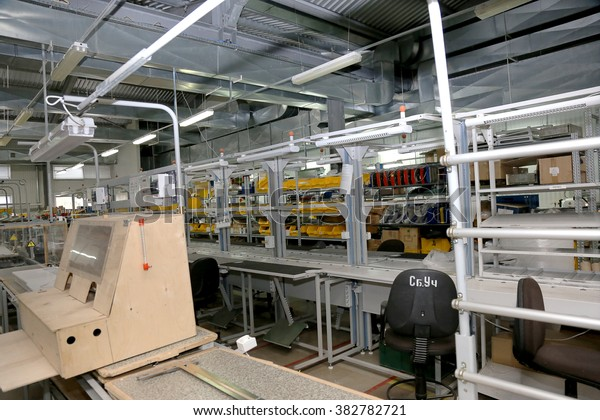 Warehouse production technological equipment for mechanical engineering