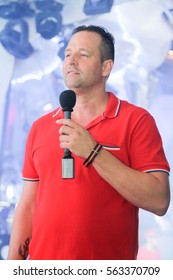 Odessa, Ukraine - 2013 July 27: Ibiza Lagerfeld Party DJ Tome Novy.