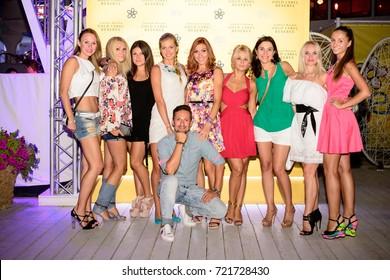 095e21ffb Leo Girls Ali Costello Nicole Zeoli Stock Photo (Edit Now) 104817476 ...