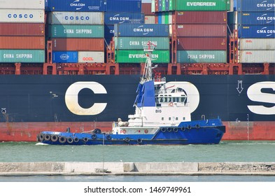 Port Jetty Container Images, Stock Photos & Vectors