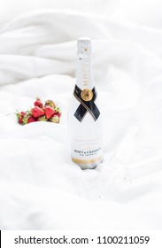 Odessa, Ukraine - May 23, 2018: Moet and Chandon Ice Imperial cham