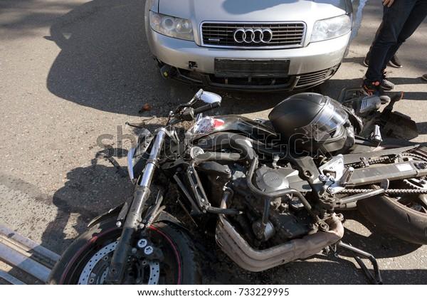 Odessa Ukraine October 112017 Easy Accident Stock Photo