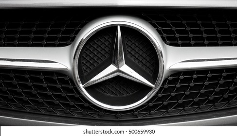Mercedes Logo Images, Stock Photos & Vectors | Shutterstock