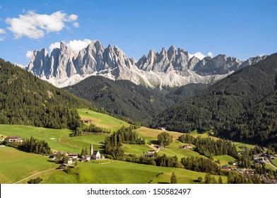 Odle,Val di Funes,Sudtirol,Italy