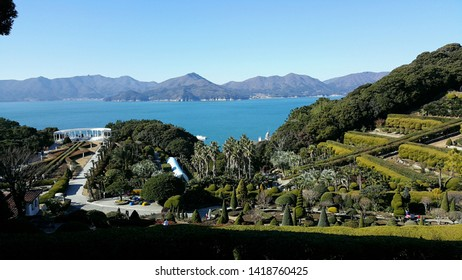 Oedo island of Geoje city, Gyeongsangnam-do, South Korea.