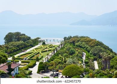 Oedo is an island with a marine western-style botanical garden in Geoje/South Korea