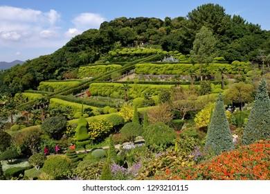 Oedo Island, South Korea - Oct 28, 2011: Oedo Botania garden in Oedo Island, South Korea