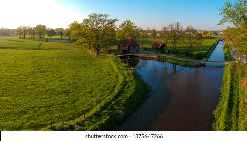 Oele Watermill. An old watermill in the east part of the Netherlands