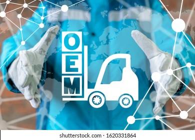 OEM Original Equipment Manufacturer Concept.