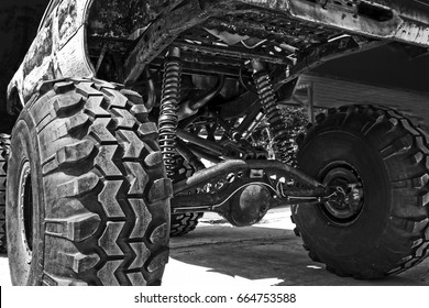 Off road car suspension.