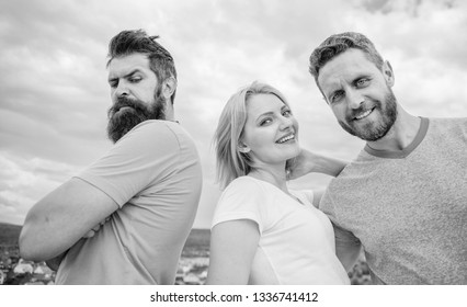 Offended partner still suffers. Girl stand between two men. Psychology of breakup. What do when you feel rejected. Couple and rejected partner. How get over breakup for guys. Ruined relationships.