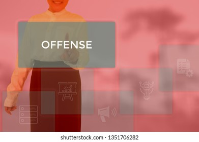 OFFENSE - technology and business concept