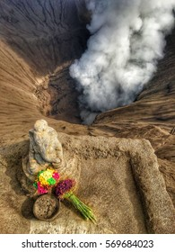 Offering to Bromo