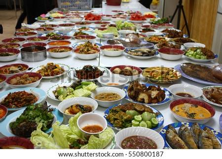 Offerpresentgive Food Alms Buddhist Monks Stock Photo Edit Now
