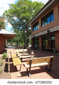Office Building Courtyard in Cary, North Carolina
